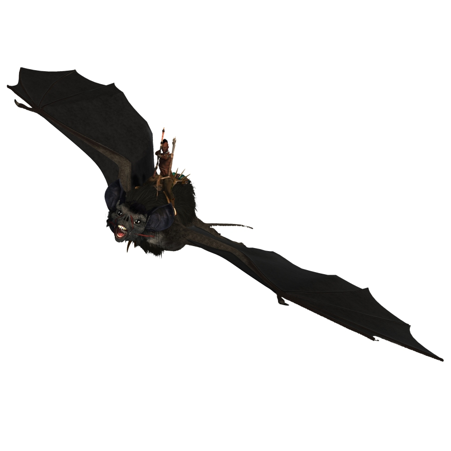 Bat and Rider Black edited